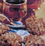 Геркулесовое печенье с медом