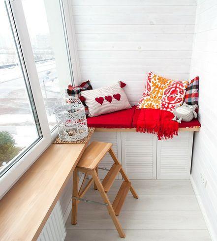 Как обустроить балкон. идеи и советы (фото).