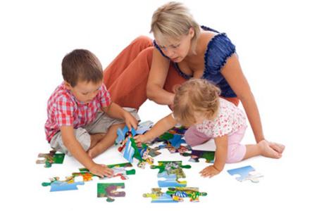 Чем занять ребенка пазлы