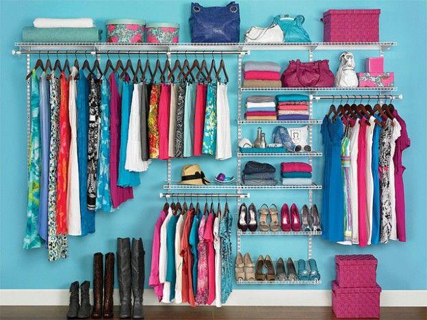 хранение вещей в гардеробе