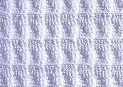 Рельефный узор крючком 3