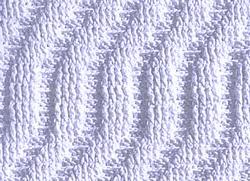 Рельефный узор крючком 4